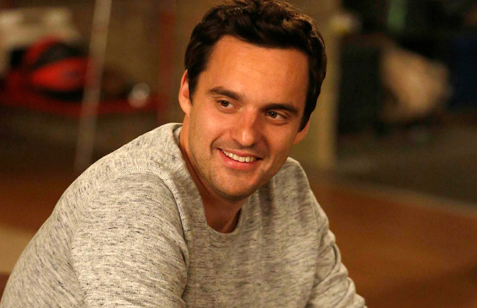 "NEW GIRL:  Nick (Jake Johnson) isn't sure how to react when Schmidt buys him a cookie in the ""Models"" episode of NEW GIRL airing Tuesday, Oct. 23 (9:00-9:30 PM ET/PT) on FOX.  ©2012 Fox Broadcasting Co.  Cr:  Greg Gayne/FOX"