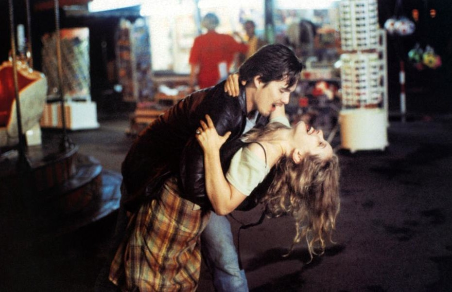 BEFORE SUNRISE, Ethan Hawke, Julie Delpy, 1995, (c) Columbia