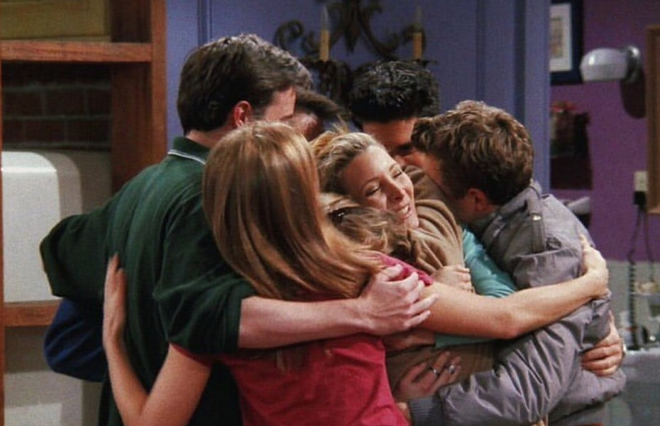 Fragmento de la serie 'Friends'